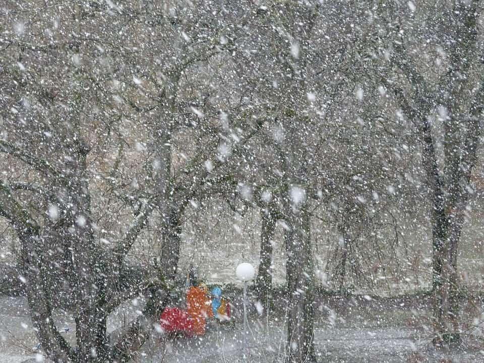 snow storms