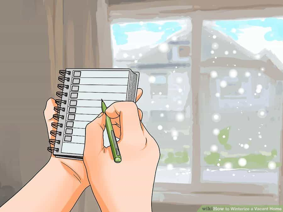 Winterizing your home checklist