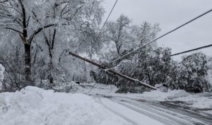 how to prepare for winter storm power outage