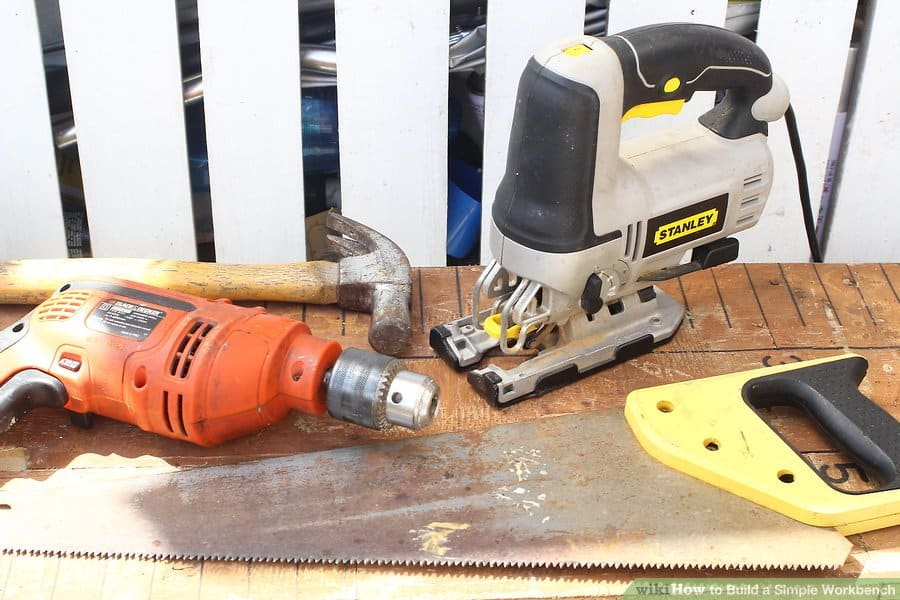 How to Build a Simple Workbench in Garage: 6 Easy Steps 1