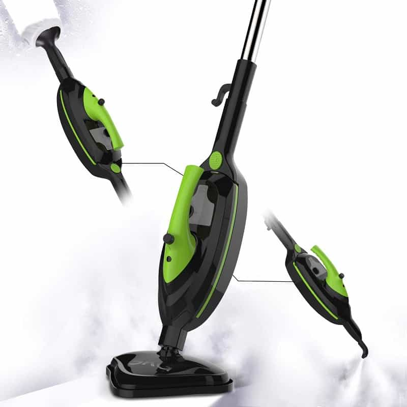 skg 1500w steam mop 6-in-1