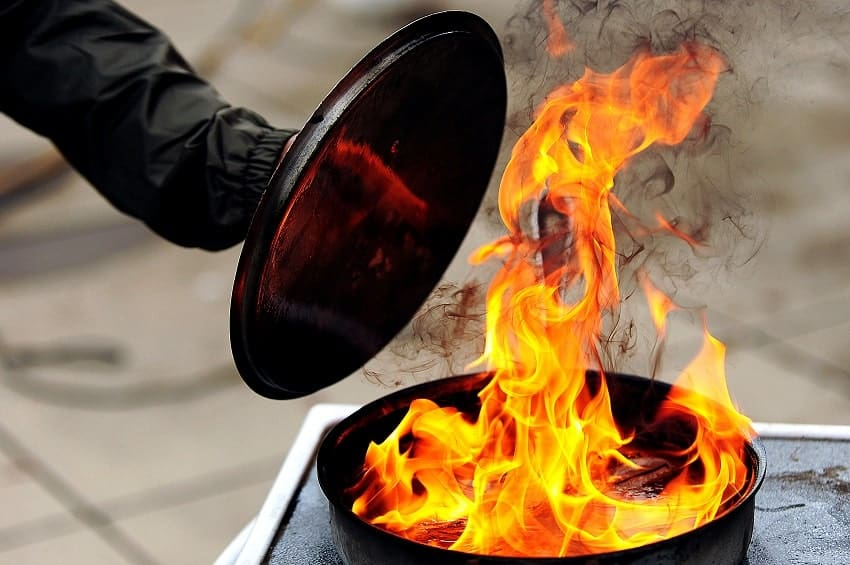 preventing grease fires