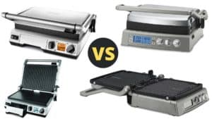 breville smart grill vs cuisinart griddler
