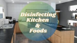 How To Disinfect Kitchen sink And Foods