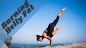 Reduce belly fat with yoga