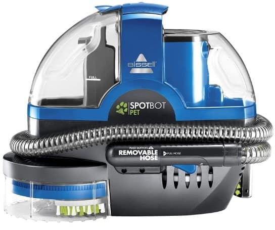 bissell spotbot pet portable deep cleaner