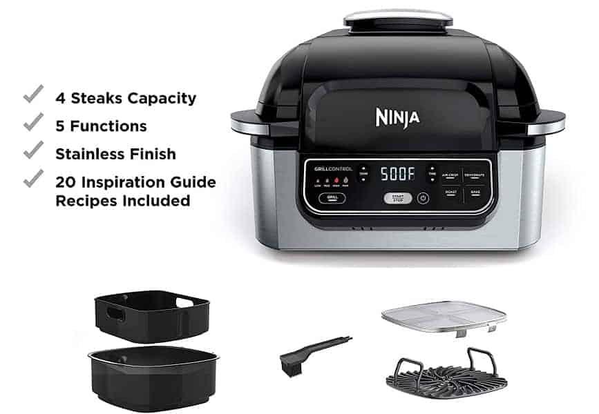 ninja foodi 5 in 1 indoor grill reviews