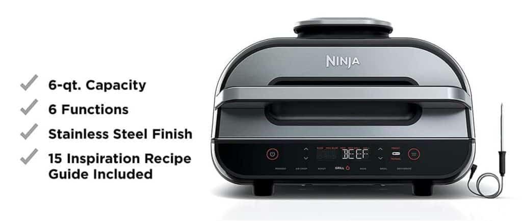 ninja foodi 6 in 1 indoor grill reviews