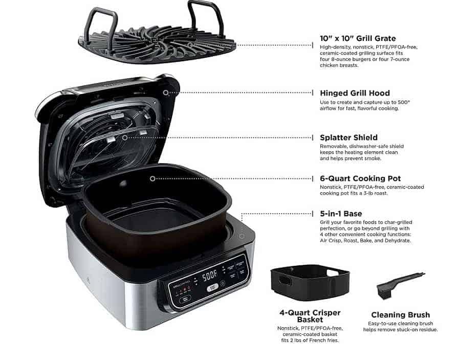 ninja foodi grill accessories