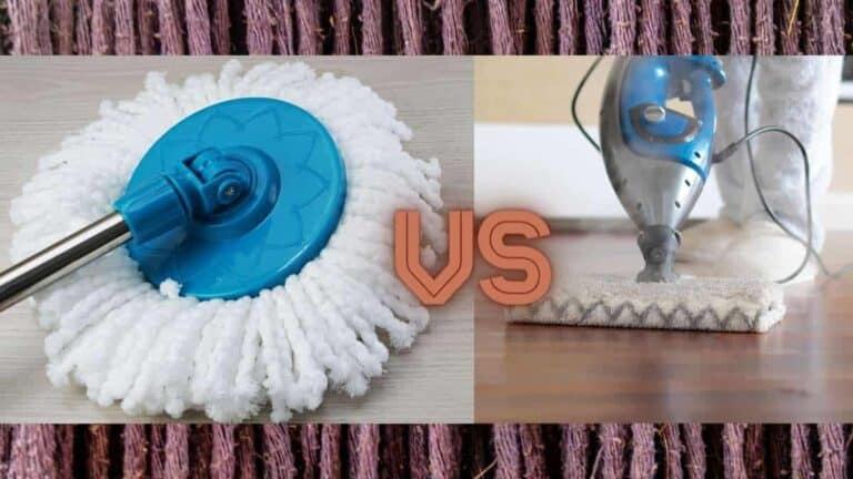 spin mop vs steam mop